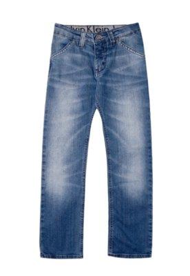 Calça Jeans Calvin Klein Jeans Skinny Lond Azul - Calvin Kl...