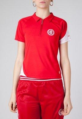 Camisa Polo Licenciados Futebol Dry Internacional Vermelha