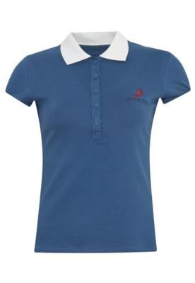 Camisa Polo The Yacht Week Vela Azul