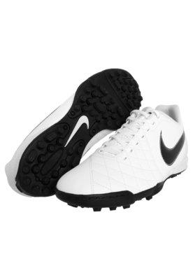 Chuteira Society Nike Flare Branca