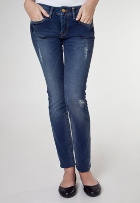 Calça Jeans Carmim Skinny Saly Azul