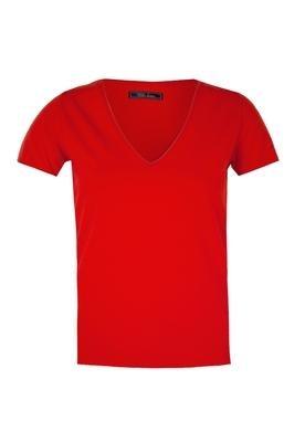 Blusa Justa Hole Vermelha - Triton