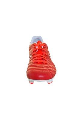 Chuteira Campo Nike Tiempo Natural IV LTR FG Vermelha/Branca