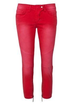 Calça Jeans Mares M&Guia Skinny Style Vermelha