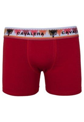 Cueca Boxer Cavalera Alencar Vermelha