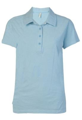 Camisa Polo Billabong Jeannie Azul