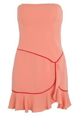 Vestido Elegance Laranja - Pink Connection