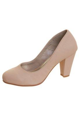 Sapato Scarpin Anna Flynn Liso Nude