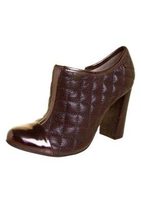 Ankle Boot Capodarte Mel Marrom