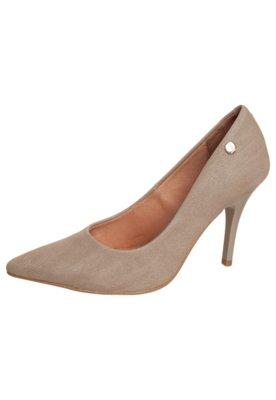 Sapato Scarpin Liso Bege - Vizzano