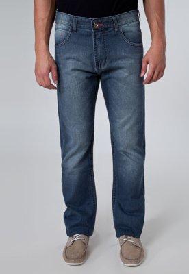 Calça Jeans Pier Nine Reta Life Azul