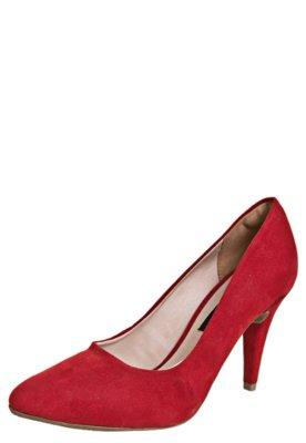Sapato Scarpin Anna Flynn Night Vermelho