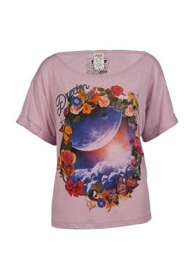 Blusa Loose Dream Rosa - Coca Cola Clothing