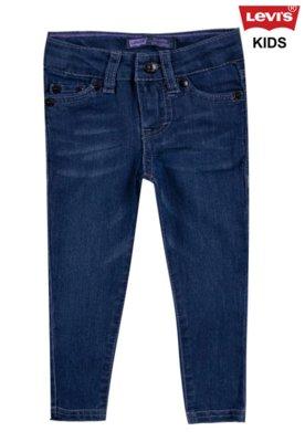 Calça Jeans Levi's Kids Skinny University Azul