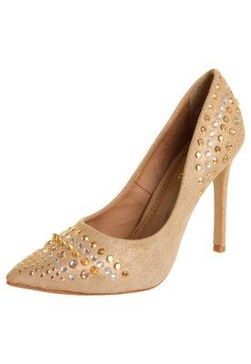 Sapato Scarpin FiveBlu Style Bege