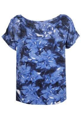 Blusa Cantão Tahiti Azul