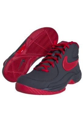 Tênis Nike The Overplay VII Cinza/Vermelho