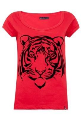Blusa Anna Flynn Tiger Vermelha