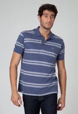 Camisa Polo Ellus Elegance Azul