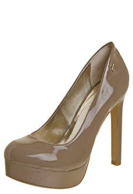 Sapato Scarpin Ellus Verniz Marrom