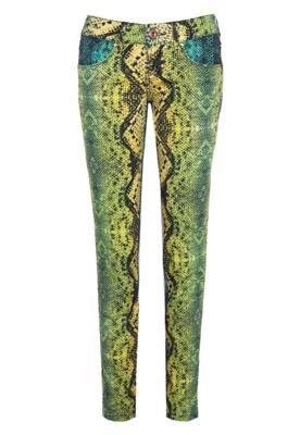 Calça Jeans Coca-Cola Clothing Demi Snake Skinny Multicolor...