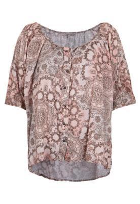 Blusa Shoulder Bata Bege