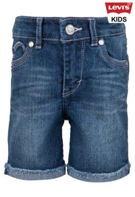Bermuda Jeans Levis Kids Menina Summer Love Azul