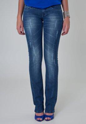 Calça Jeans Calvin Klein Jeans Cintura Baixa Sky Azul