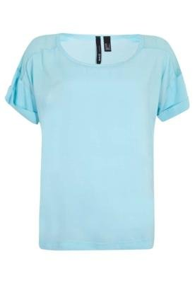 Blusa MNG Barcelona Rosso Azul