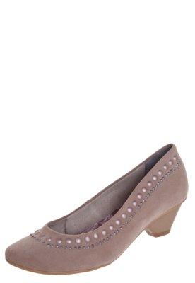 Sapato Scarpin Crysalis Turim Bege