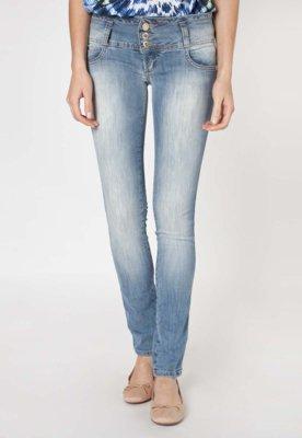 Calça Jeans Colcci Skinny Tina Love Azul