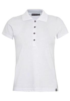 Camisa Polo Anna Flynn Color Pratic Branca