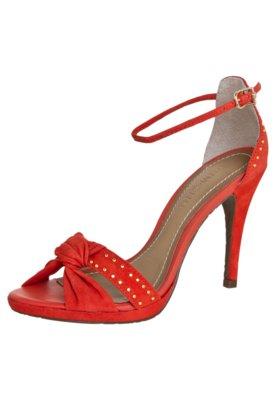 Sandália Dumond Nó Vermelha