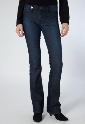 Calça Jeans Triton Boot Cut Fátima Azul