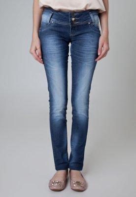 Calça Jeans Sawary Skinny Wash Azul