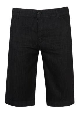 Bermuda Jeans Ellus High Preta