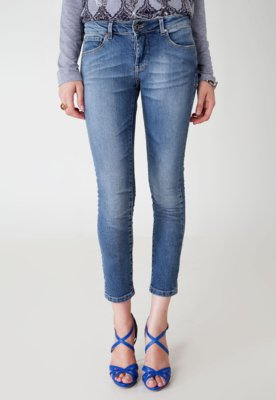 Calça Jeans Canal Skinny Free Azul