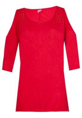 Blusa Blend Vermelha - Pink Connection