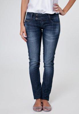 Calça Jeans Sawary Skinny Rachel Azul