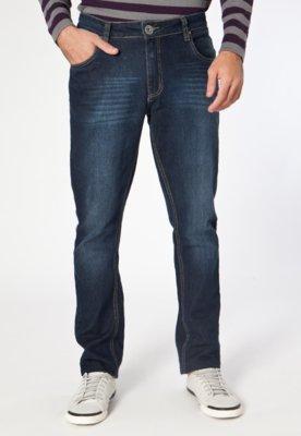 Calça Jeans Reta New Azul - M. Officer