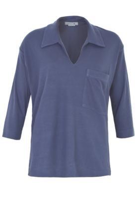 Camisa Polo Lacoste Cloudy Azul