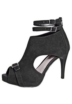 Ankle Boot Pop Tuch Fivela Preta - Pop Touch