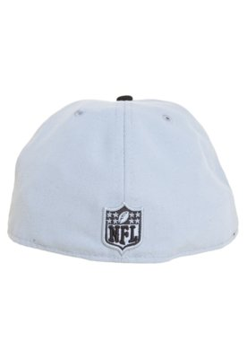 Boné New Era NFL Tight Oakland Raiders TC Cinza