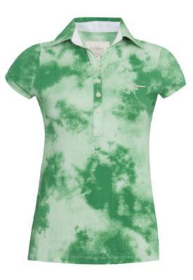 Camisa Polo Acostamento Wolf Verde