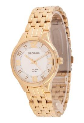 Relógio Seculus 28228LPSBDA1 Dourado