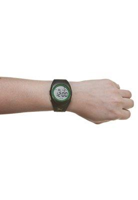 Relógio Puma Faas 250 Preto/Verde/Amarelo