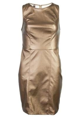 Vestido Coca-Cola Tulipa Glam Dourado - Coca Cola Clothing