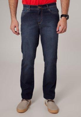 Calça Jeans TNG Skinny Bordado Azul