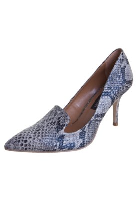 Sapato Scarpin Anna Flynn City Bege