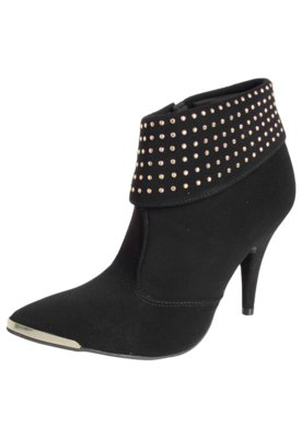 Ankle Boot Crysalis Dobra Hotfix Preta